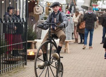 Winterfair in Dickensstijl op de Veluwe