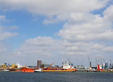 Architectuur en havens in Rotterdam