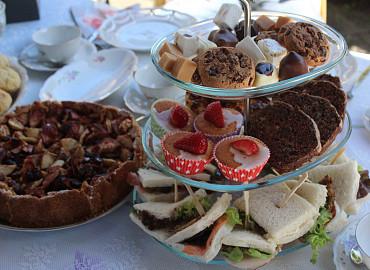 High Tea arrangement, gezellig!