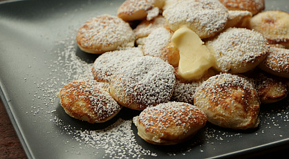 Poffertjes eten in Laren