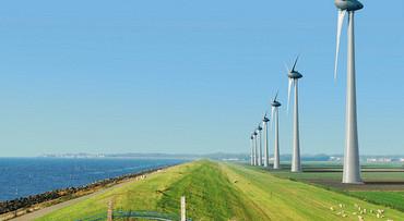 Windenergie en bussafari