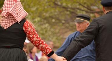 Folklore op de Veluwe