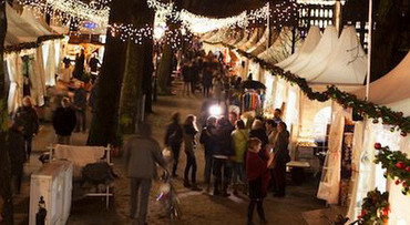 Kerstlichtjes in Royal Den Haag