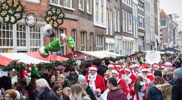 Varend naar kerstmarkt Dordrecht