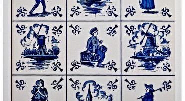 Delfts Blauw en Scheveningen