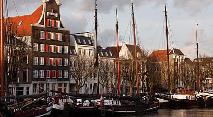 Per boot naar Dordrecht