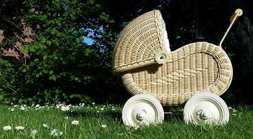 Kinderwagens in de Achterhoek