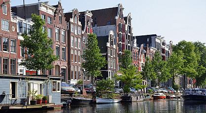 Varen door de Amsterdamse grachten