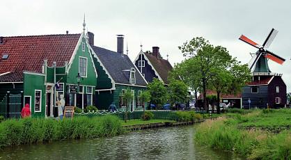 Varen vanuit Amsterdam naar de Zaanse Schans